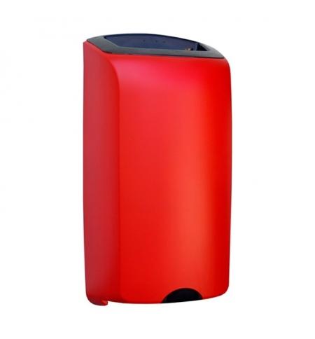 фото: Контейнер для мусора подвесной Merida Unique Red Line Matt KUR101 открытая крышка, 40л, матовый красный
