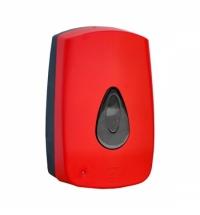 Диспенсер для мыла в картриджах Merida Unique Red Line Matt DUR501 сенсорный, матовый красный, 700мл