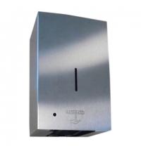 фото: Диспенсер для мыла в картриджах Merida Stella Automatic DSM501 сенсорный, матовый металлик, 700мл