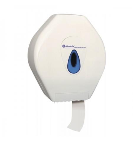 фото: Диспенсер для туалетной бумаги в рулонах Merida Mega Top PT0TN белый/синий