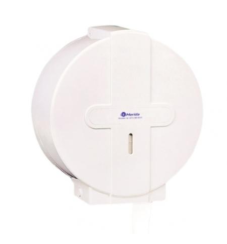 фото: Диспенсер для туалетной бумаги в рулонах Merida Classical Line Maxi PT1 белый