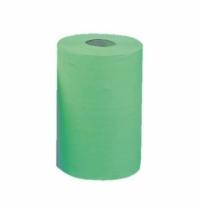 Бумажные полотенца Merida Classic Mini RKZ202 в рулоне с центр. вытяж., зеленые, 90м, 1 слой, 12 рулонов