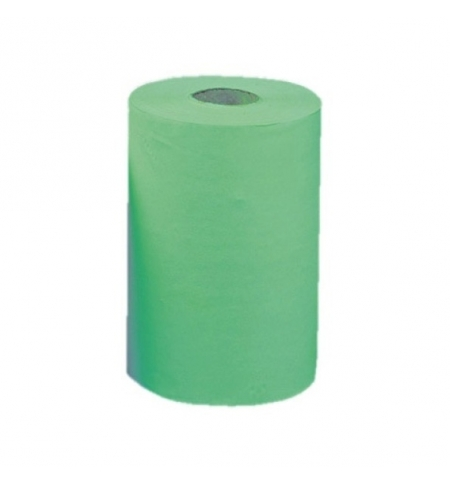 фото: Бумажные полотенца Merida Classic Mini RKZ202 в рулоне с центр. вытяж., зеленые, 90м, 1 слой, 12 рулонов