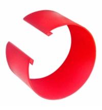 фото: Кольцо цветовой кодировки Merida для ручки красное, К002