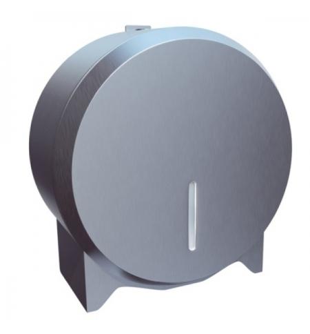 фото: Диспенсер для туалетной бумаги в рулонах Merida Stella Economy Mini BEM201 матовый металлик