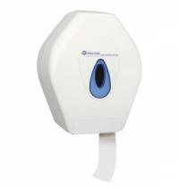 фото: Диспенсер для туалетной бумаги в рулонах Merida Top Mini PT2TN белый/синий
