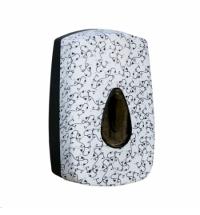 фото: Диспенсер для мыла в картриджах Merida Unique Charming Line Matt DUH507, сенсорный, матовый с рисунк