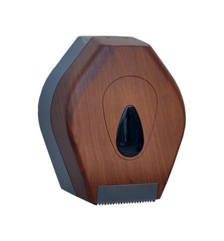 фото: Диспенсер для туалетной бумаги в рулонах Merida Unique Eco Line Matt BUH227, матовый под дерево