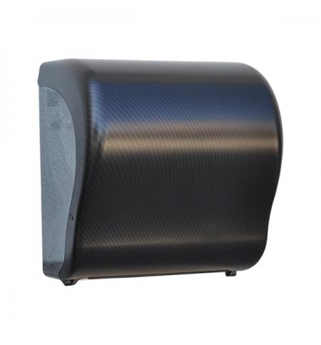 фото: Диспенсер для полотенец в рулонах Merida Unique Lux Cut Exclusive Carbon Line Matt Maxi CUH321, мато