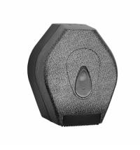 фото: Диспенсер для туалетной бумаги в рулонах Merida Unique Glamour Black Line Matt BUH219, матовый под к