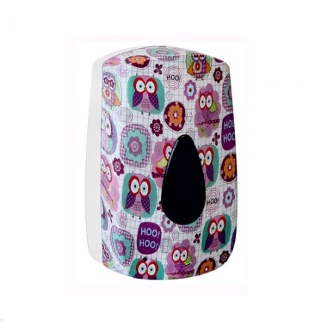 фото: Диспенсер для мыла в картриджах Merida Unique Joy Line Matt DUH501, сенсорный, матовый с рисунком, 7