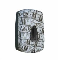 Диспенсер для мыла в картриджах Merida Unique Las Vegas Line Matt DUH513, сенсорный, матовый с рисун