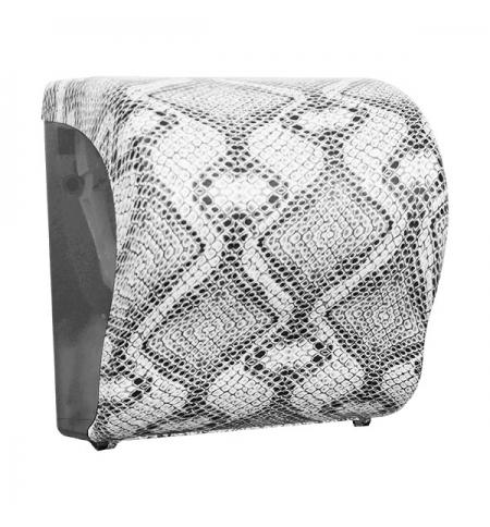 фото: Диспенсер для полотенец в рулонах Merida Unique Lux Cut Luxury Line Matt Maxi CUH311, матовый под зм