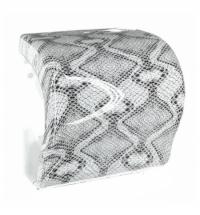 фото: Диспенсер для полотенец в рулонах Merida Unique Lux Cut Luxury Line Spark Maxi CUH361, глянцевый под