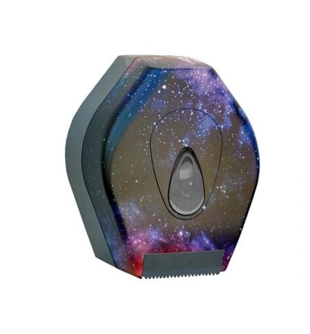 фото: Диспенсер для туалетной бумаги в рулонах Merida Unique Magic Line Matt BUH223, матовый с рисунком