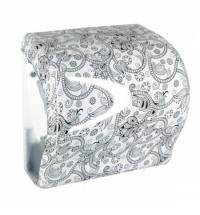 фото: Диспенсер для полотенец в рулонах Merida Unique Lux Cut Orient Line Spark Maxi CUH355, глянцевый с р