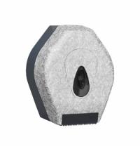 фото: Диспенсер для туалетной бумаги в рулонах Merida Unique Palace Line Matt BUH203, матовый с рисунком