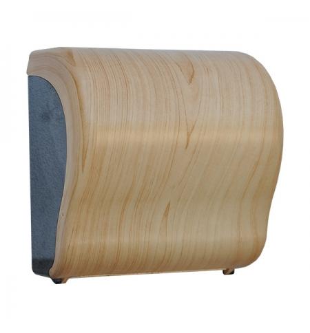фото: Диспенсер для полотенец в рулонах Merida Unique Lux Cut Scandinavian Line Matt Maxi CUH325, матовый