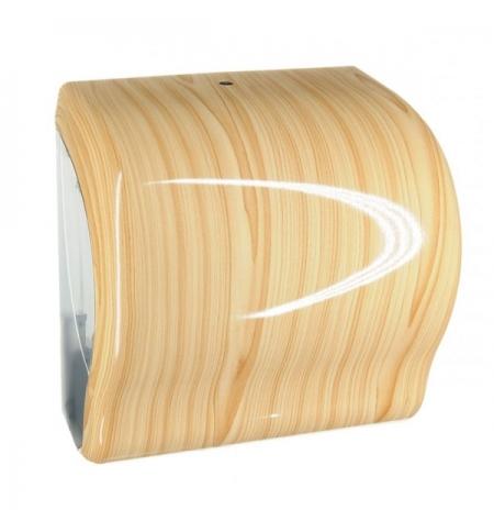 фото: Диспенсер для полотенец в рулонах Merida Unique Lux Cut Scandinavian Line Spark Maxi CUH375, глянцев