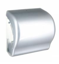 Диспенсер для полотенец в рулонах Merida Unique Lux Cut Silver Line CUS351, глянцевый металлик