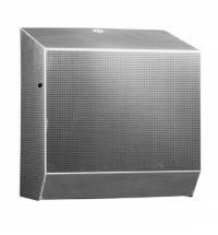 фото: Диспенсер для полотенец в рулонах Merida Inox Design Texture Line Maxi CDT301, металлик с рисунком,