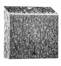 фото: Диспенсер для полотенец листовых Merida Inox Desigh Icicle Line Maxi ADI101, металлик с рисунком, V-