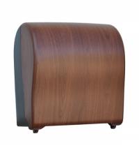 фото: Диспенсер для полотенец в рулонах Merida Unique Solid Cut Eco Line Matt Maxi CUH328, матовый под дер