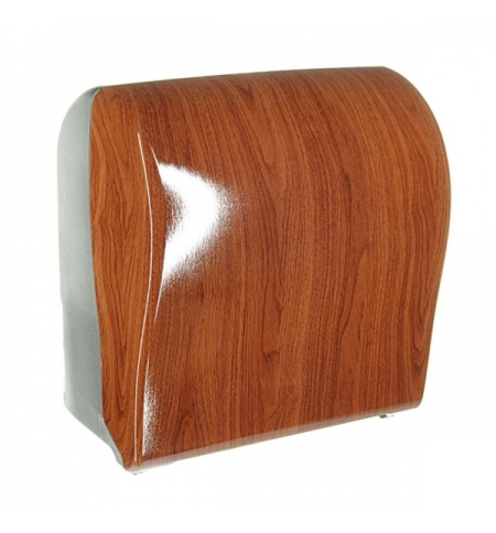 фото: Диспенсер для полотенец в рулонах Merida Unique Solid Cut Eco Line Spark Maxi CUH378, глянцевый под