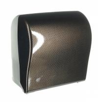 Диспенсер для полотенец в рулонах Merida Unique Solid Cut Exclusive Carbon Line Spark Maxi CUH372, г