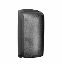 фото: Контейнер для мусора подвесной Merida Unique Glamour Black Line Matt KUH119, открытая крышка, 40л, м