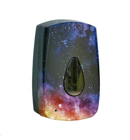 фото: Диспенсер для мыла в картриджах Merida Unique Magic Line Matt DUH523, сенсорный, матовый с рисунком,