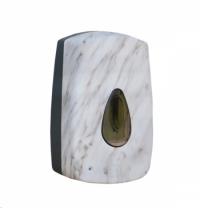 фото: Диспенсер для мыла в картриджах Merida Unique Marble Line Spark DUH559, сенсорный, глянцевый с рисун