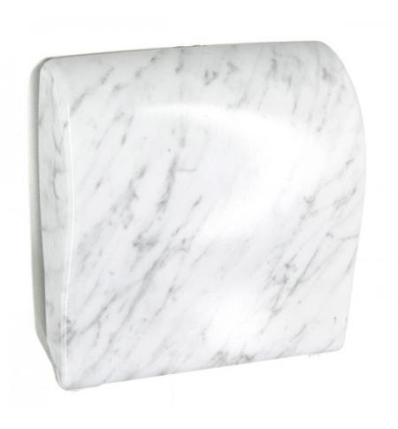 фото: Диспенсер для полотенец в рулонах Merida Unique Solid Cut Marble Line Spark Maxi CUH360, глянцевый п