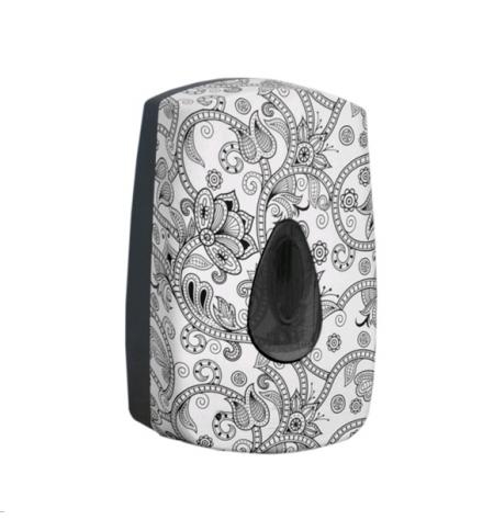 фото: Диспенсер для мыла в картриджах Merida Unique Orient Line Spark DUH555, сенсорный, глянцевый с рисун