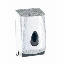 фото: Диспенсер для туалетной бумаги листовой Merida Unique Palace Line Spark BUH453, глянцевый с рисунком