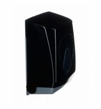 фото: Диспенсер для туалетной бумаги листовой Merida Unique Piano Black Line BUC451, глянцевый черный