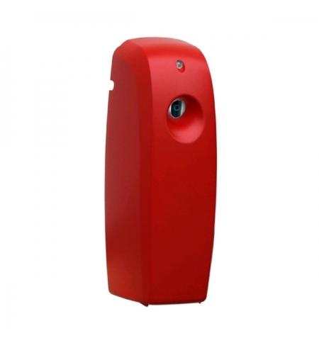 фото: Диспенсер для освежителя воздуха Merida Unique Red Line Matt матовый красный, 270мл, с ЖК-дисплеем,