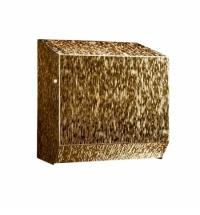 Диспенсер для полотенец в рулонах Merida Inox design icicle gold line CDI302, золотистый, автоматиче