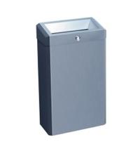 Корзина для мусора Merida Stella Classic KEM101, 27л, металлическая матовая
