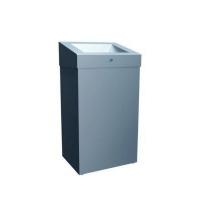 Корзина для мусора Merida Stella KSM101G, металлическая матовая