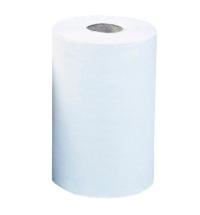 фото: Бумажные полотенца Merida Optimum Mini в рулоне с центральной вытяжкой, белые, 60м, 2 слоя