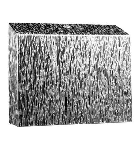 фото: Диспенсер для туалетной бумаги в рулонах Merida Inox Desigh Icicle Line Duo BDI202, металлик с рисун