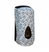 фото: Диспенсер для мыла в картриджах Merida Unique Charming Line Matt DUH207, матовый с рисунком, 700мл