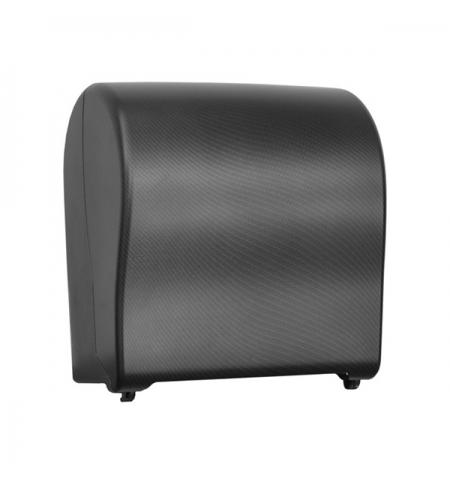фото: Диспенсер для полотенец в рулонах Merida Unique Solid Cut Exclusive Carbon Line Matt Maxi CUH322, ма