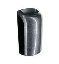 Контейнер для мусора подвесной Merida Unique Glamour Black Line Spark KUH169, открытая крышка, 40л,