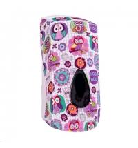 фото: Диспенсер для мыла в картриджах Merida Unique Joy Line Matt DUH201, матовый с рисунком, 700мл