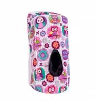 фото: Диспенсер для мыла в картриджах Merida Unique Joy Line Spark DUH251, глянцевый с рисунком, 700мл