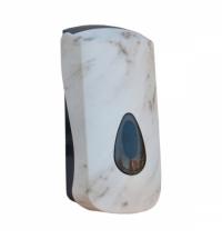 фото: Диспенсер для мыла в картриджах Merida Unique Marble Line Matt DUH209, матовый под мрамор, 700мл
