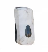 Диспенсер для мыла в картриджах Merida Unique Marble Line Spark DUH259, глянцевый под мрамор, 700мл