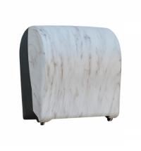 фото: Диспенсер для полотенец в рулонах Merida Unique Solid Cut Marble Line Matt Maxi CUH310, матовый под